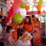Chương trình Sampling Mỳ Hàn Quốc tại siêu thị Lan Chi Mart Vĩnh Yên