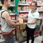 Phát Sampling Bio Miwon ở siêu thị Big C và Metro tại Tp.HCM và Bình Dương
