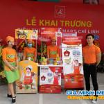 Sampling Mì Hàn Quốc nhân dịp khai trương siêu thị Lan Chi Chí Linh