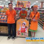 Sampling Mì Hàn Quốc tại siêu thị AEON MALL Long Biên