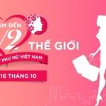 Khuyến mại cực lớn mừng ngày Phụ Nữ Việt Nam