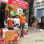 Sampling mì Hàn Quốc tại siêu thị Nine Mart