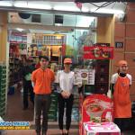 Chương trình sampling mì hàn quốc tại shop N18 Hoàng Cầu