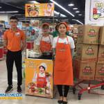 Sampling mì hàn quốc tại siêu thị Lotte Mart Tây Sơn – Đống Đa