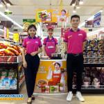 Sampling mì hàn quốc tại siêu thị FiviMart Trương Định