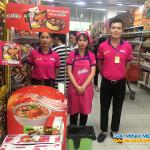 Sampling mì hàn quốc tại siêu thị Big C Thăng Long