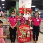 Sampling mì hàn quốc tại siêu thị Lotte Mart Đống Đa