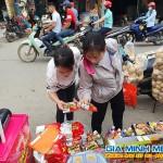 Sampling Mì Hàn Quốc tại tỉnh Bắc Ninh