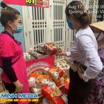 Sampling Mì Hàn Quốc tại chợ Gốc Phượng – Tp.Sơn La