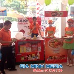 Chương trình Sampling Mỳ Hàn Quốc tại siêu thị Lan Chi Thái Nguyên