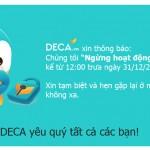 Lại đến lượt trang web TMĐT Deca.vn của 24h đóng cửa tại Việt Nam.