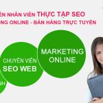 Tuyển dụng nhân viên thực tập SEO Website