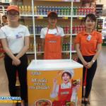 Chương trình sampling mì hàn quốc tại siêu thị Lotte Mart Ba Đình
