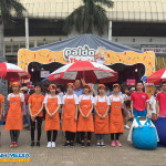 Sampling mì hàn quốc và hoạt náo tại Hội chợ K-FOOD 2018