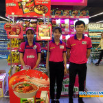 Sampling mì hàn quốc tại siêu thị Lotte Mart Ba Đình