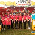 Sampling và hoạt náo Mì hàn Quốc tại lễ hội ẩm thực Việt -Hàn 2018