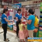 Tổ chức Sampling tại các siêu thị