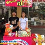 Sampling Mì Hàn Quốc tại tỉnh Hưng Yên